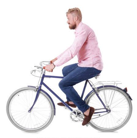 Aspaas sykler i Larvik.